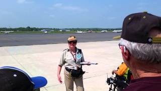 Manassas Airport Arsenal of Democracy Washington DC flyover practice takeoff B29 05.07.2015