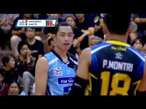 24-03-2560 วอลเลย์บอลไทยเดนมาร์ค (ชาย) ราชมงคลล้านนา - ราชบุรี วีซี
