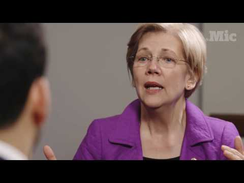 Elizabeth Warren lays out the difference between Democrats and Republicans on student loans