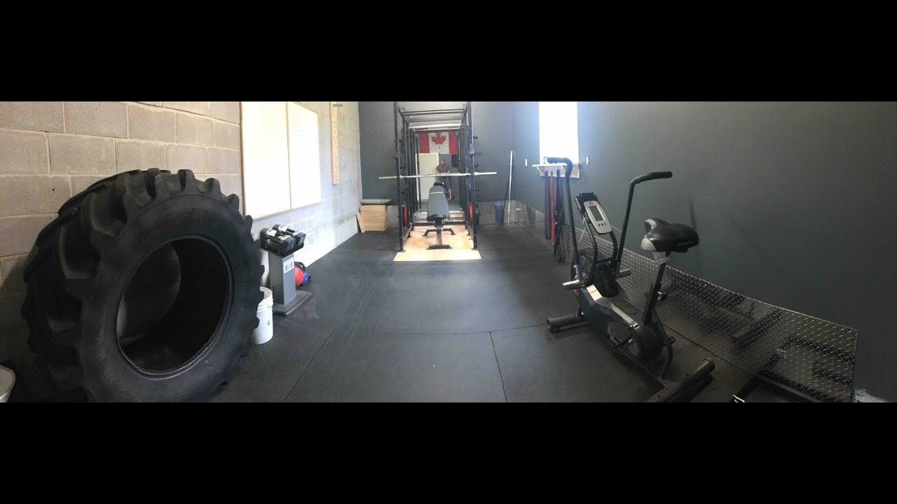 Epic tour of my home gym garage youtube
