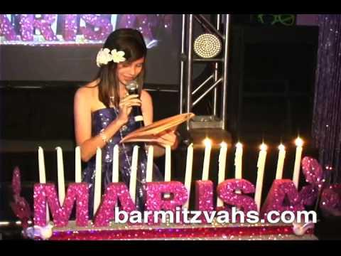 Candle lighting ceremony bat mitzvah lightneasy florida bat mitzvah candle lighting ceremony you aloadofball Choice Image
