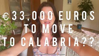 CALABRIA PAYING YOU €33,000 TO MOVE HERE??? Let's discuss the details and more! #calabria #italy