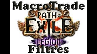 как определить цену в Path of Exile? Установка Trade Macro и Фильтры
