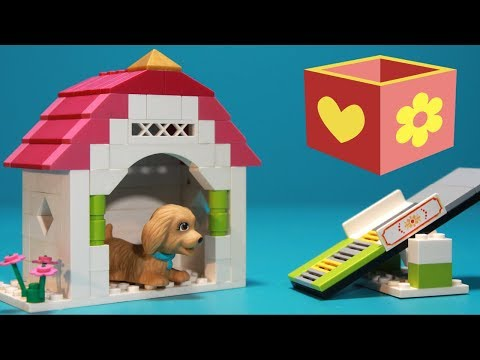 Lego Build setup for girls and boys | Bellboxes | Puppy