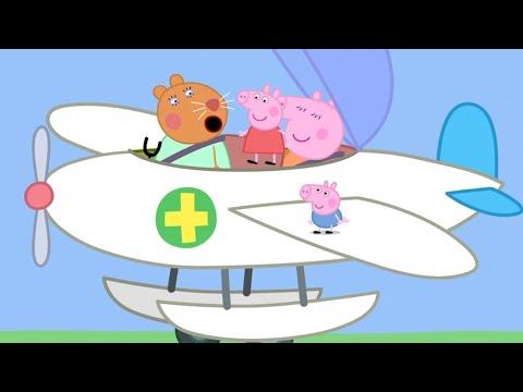 Die Fliegende Tierärztin ✈️ Cartoons Für Kinder | Peppa Wutz Neue Folgen