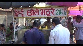 Guptaji ke Chole Bhature & Chole Chawal | Only 20 Rs Plate | Street Food Delhi