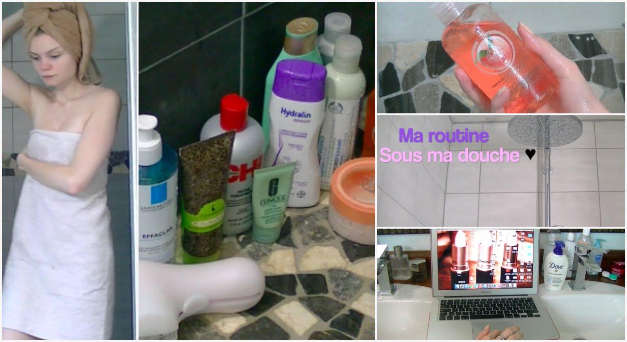 Ma routine corps cheveux visage sous la douche youtube - Video sous la douche ...
