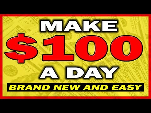 How To Make $100 A Day From Home (Brand New Method)