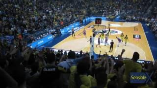 Ekpe'nin olağandışı basket faulü | Unordinary shoot of Ekpe Udoh