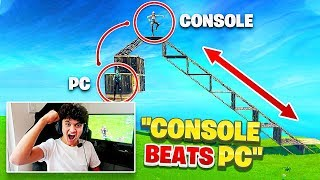 The BEST Console Player Vs PRO PC Players (Fortnite PS4 & Xbox vs PC)