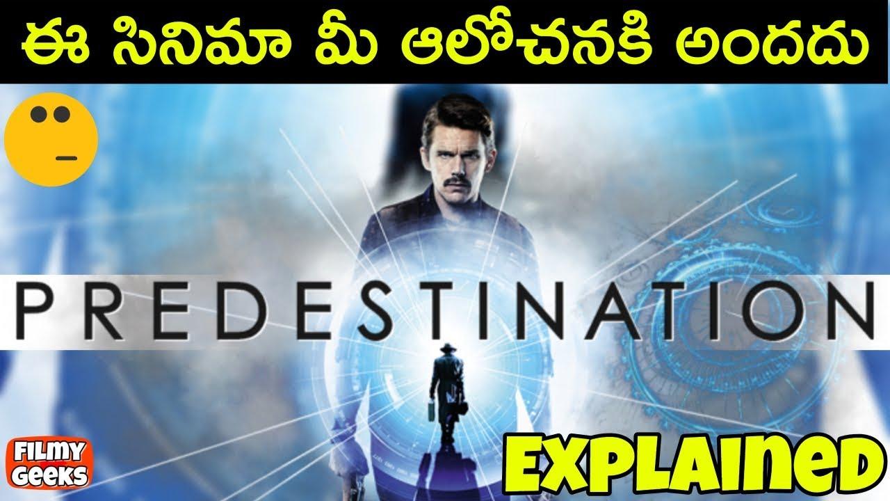 PREDESTINATION movie explained in Telugu | Best Time Travel movie? | Filmy  Geeks