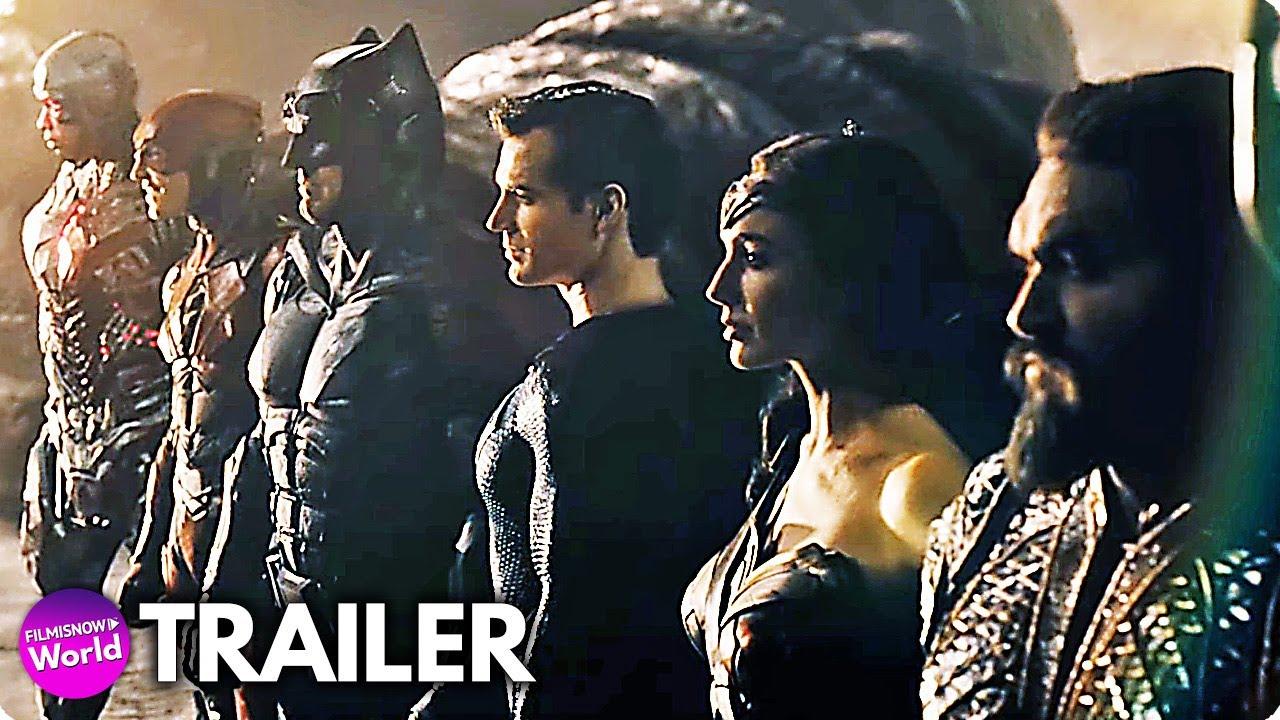 LIGA DA JUSTIÇA - SNYDER CUT (2021) Trailer Final Legendado | filme DC