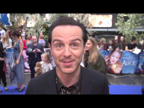 Alice Through The Looking Glass European Premiere Interview - Andrew Scott