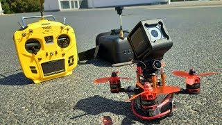 3inch quad - can it carry a GoPro for HD FPV freestyle ? - K.Haring 125 - Racerstar 1407