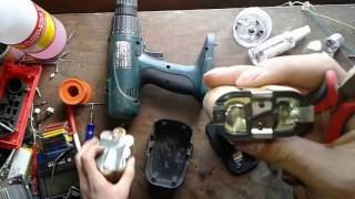 How To Make a Super Powerful Li-ion Battery 14.8V 3A For Cordless Drill