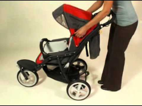 chicco s3 all terrain stroller youtube. Black Bedroom Furniture Sets. Home Design Ideas