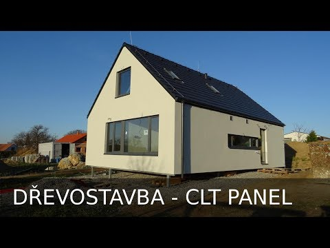 Dřevostavba z CLT panelů