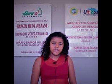 María Angel Marrugo Muñoz opina sobre la apertura del nuevo Mercado de Santa Rita