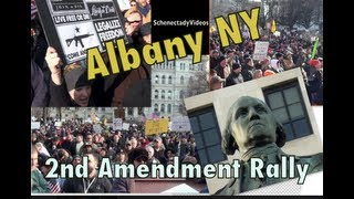 "2nd Amendment Rally - Albany NY - ""The Right To Bear Arms"""
