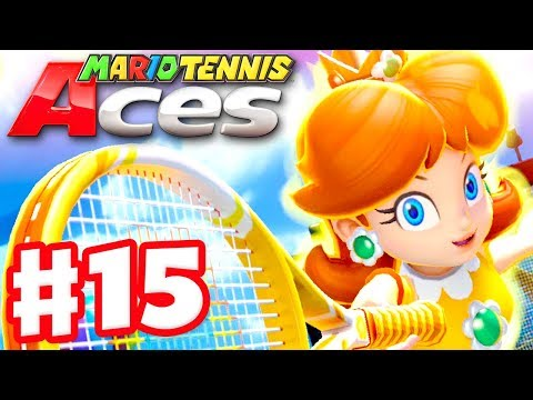 Mario Tennis Aces - Gameplay Walkthrough Part 15 - Daisy! Online Tournament! (Nintendo Switch) - 동영상