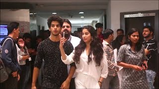 H0t Couple  jhanvi kapoor and ishaan khattar Together For  Upcoming Movie
