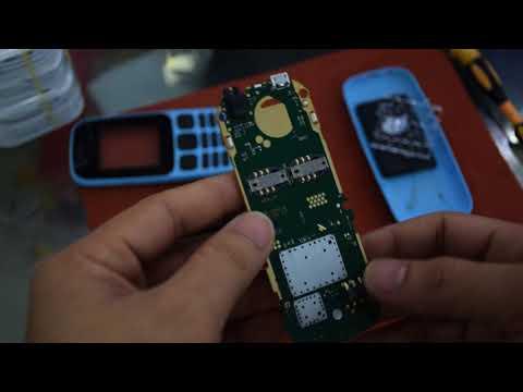 Đập hộp và mổ xẻ Nokia 105 Dual Sim 2017 xem bên trong cải tiến những gi?
