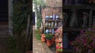 My favorite pottery shop in Scotland