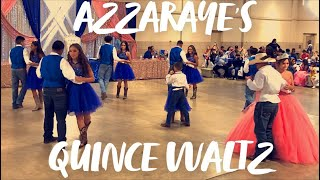 Azzaraye's Quinceanera Waltz: The Climb - Miley Cyrus