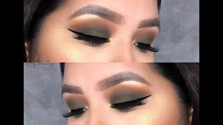 Olive Smokey Eye// Morphe x Jaclyn Hill Armed & Gorgeous palette / The Vaullt Collection
