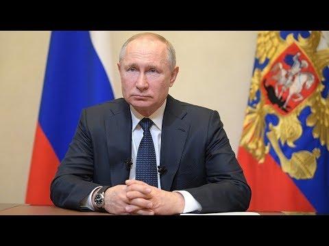 Владимир Путин объявил следующую неделю нерабочей для всей страны