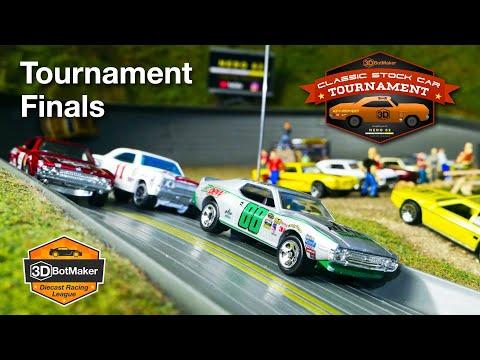 Classic Stock Car Tournament Finals   Diecast NASCAR Racing