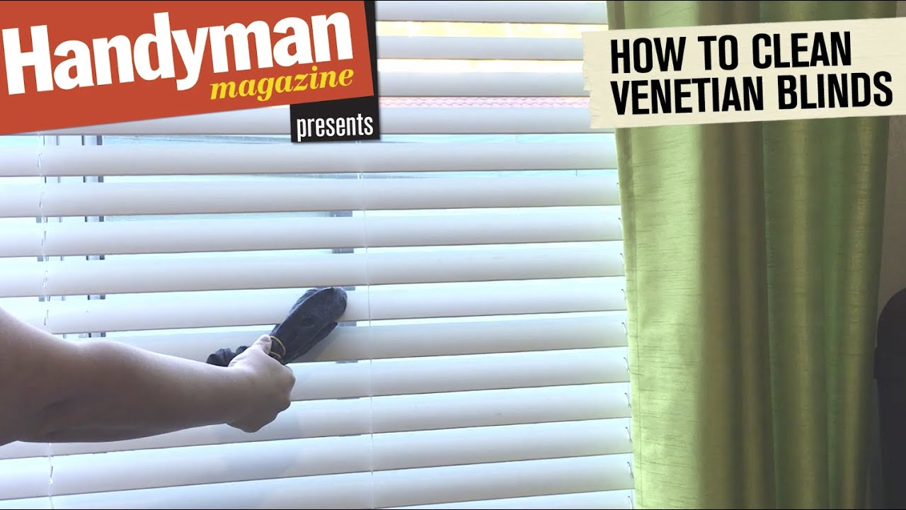 How To Clean Venetian Blinds Quickly And Easily