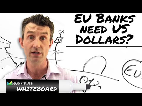 Why do European banks need dollars?