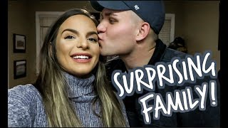 TELLING OUR FAMILY WE'RE PREGNANT! *SWEET REACTIONS*  | Casey Holmes Vlogs
