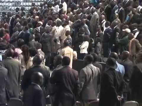 (Video 1 of 3) Gen. Alfred Lado Gore & Dr. Riek Machar speech