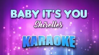 Baby It's You - Shirelles (Karaoke version with Lyrics)