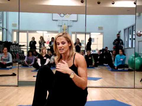 Olympic Medalist Dara Torres Talking the Benefits Ki-Hara Stretching Techiques