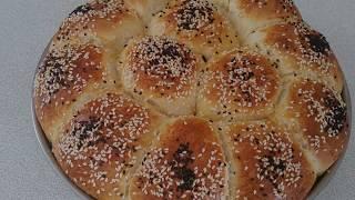 Çiçek Ekmek Tarifi-Evde Ekmek Yapımı