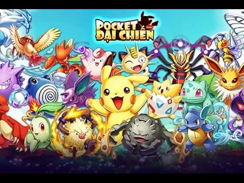 Game Mobile Pocket Đại Chiến - Pokemon GO
