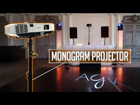 Mobile DJ Tips: How To Display A Monogram (GOBOs) W/ A Traditional Projector