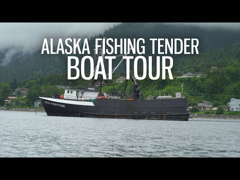Deadliest Catch Fishing Tender Boat Tour In Alaska S3 EP11