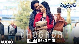 Chogada Tara | Loveratri | Darshan Raval | Asees Kaur | Englsih Translation