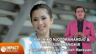 pdt dr ir niko njotorahardjo sari simorangkir opening prayer kaulah harapan