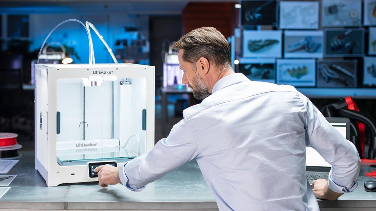 video Ultimaker S5 3D Printer