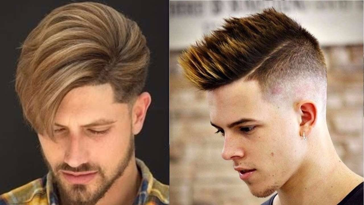 Hair Style 2018 Men: Top 10 New Hairstyles For Men 2017-2018-10 New Trendy