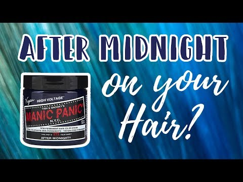 Manic Panic AFTER MIDNIGHT | Hair Level Swatches