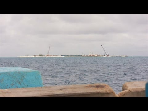 BBC记者走访中国在南沙珊瑚礁填海造岛