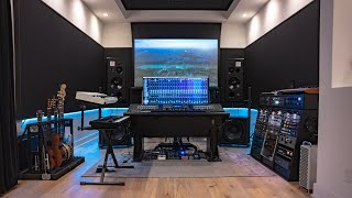 ULTIMATE HOME STUDIO Setup 2021 | Jordan Critz (studio tour)