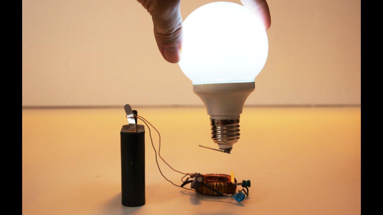 Wireless Electric Generator For Light Bulb Free Energy Circuit Diagram Of Wasabysajado