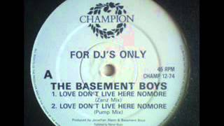 the basement boys - love don